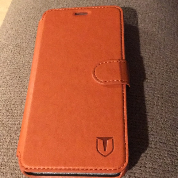 separation shoes 5c621 dce7e iPhone 6/6S Plus leather phone case - light brown
